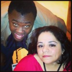 Andre Meadows from Black Nerd Comedy with Nathasha Alvarez