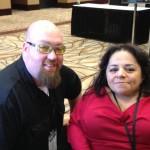 @cebsilver Curtis Silver meets Nathasha Alvarez at New Media Expo 2013
