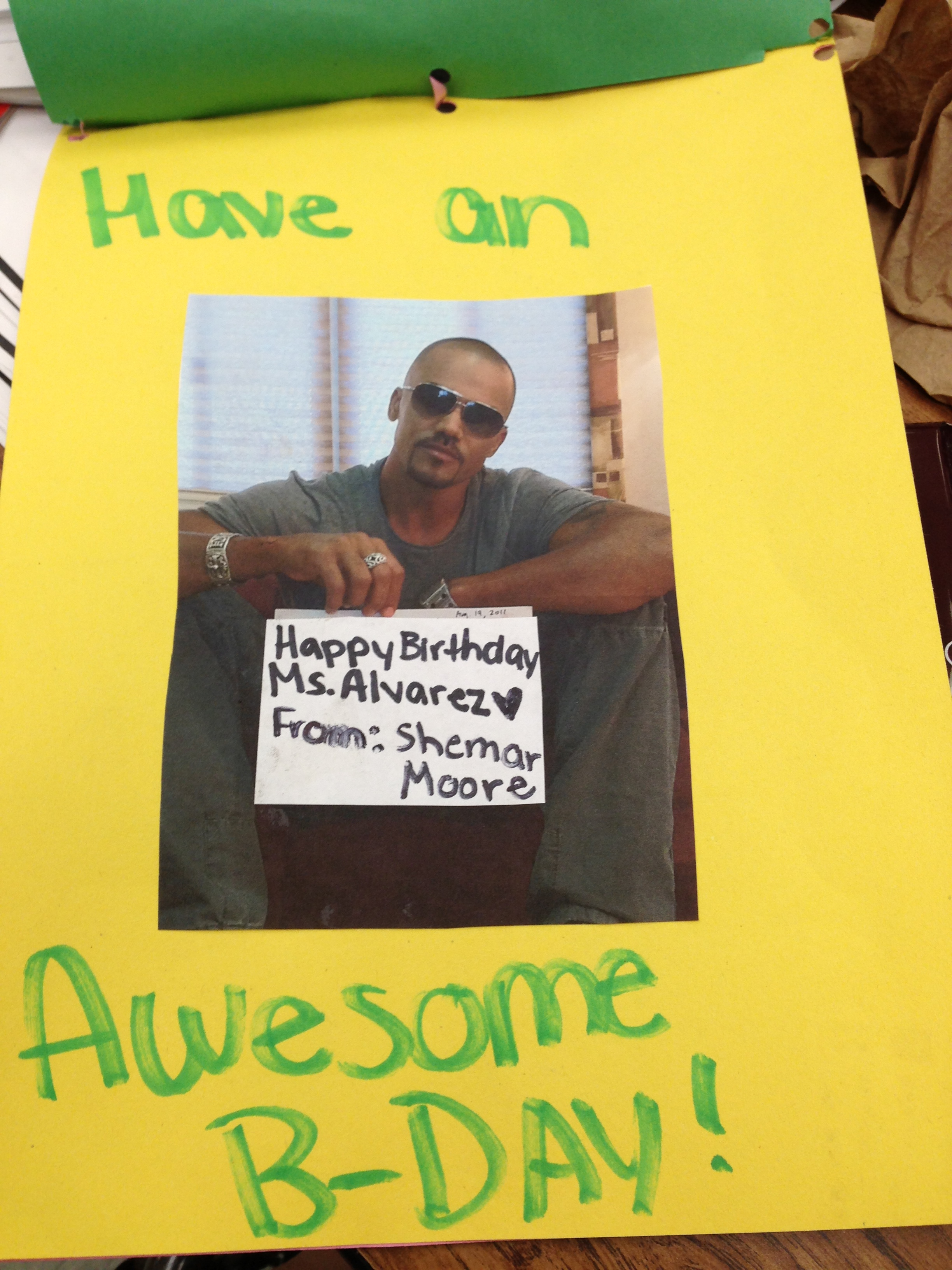 e7d68b6b7 Shemar Moore Wishes Nathasha Alvarez Happy Birthday | Audacious Lady
