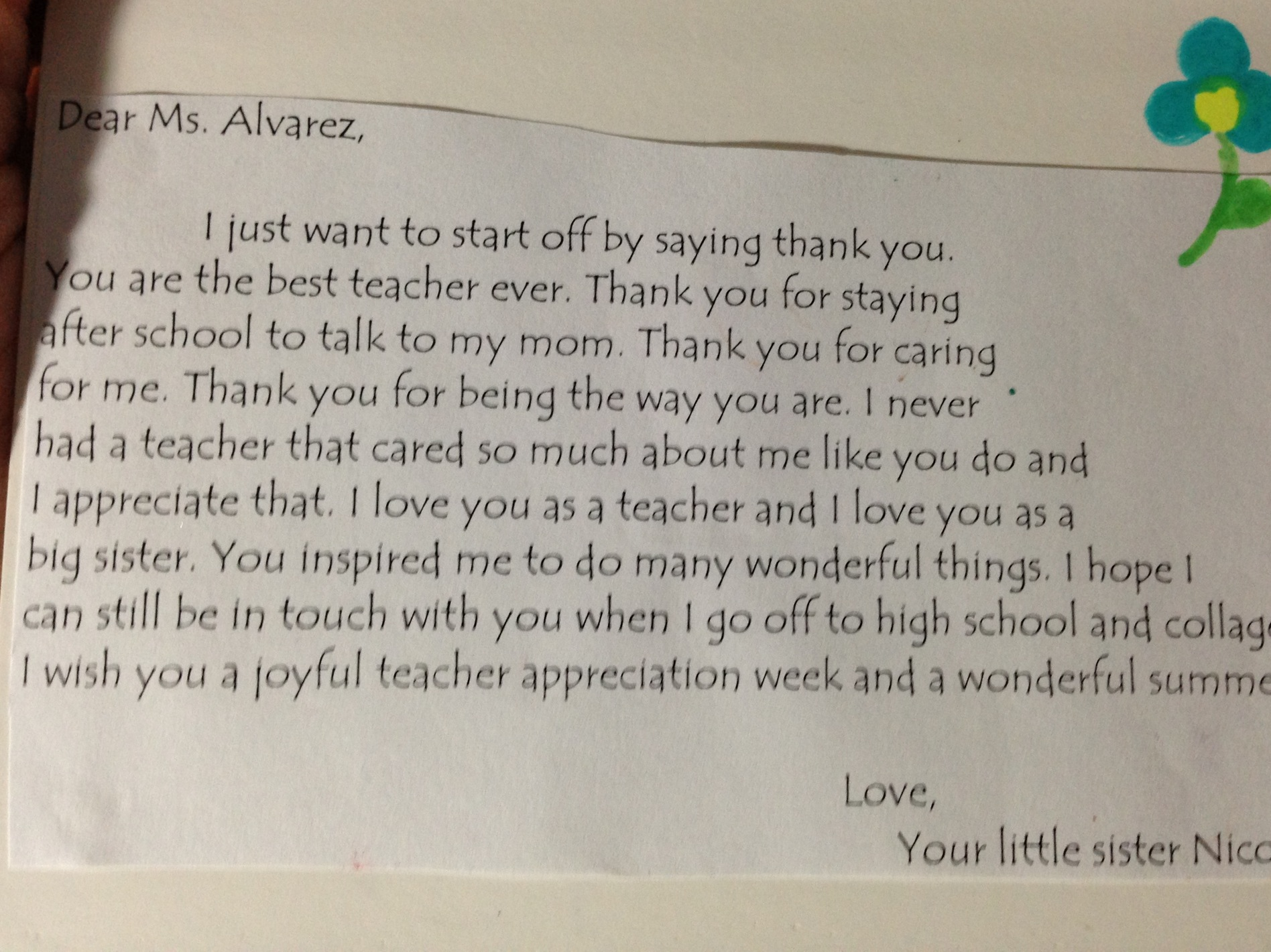 letter to my teacher Find and save ideas about letter to students on pinterest | see more ideas about letter to teacher, end of a letter and letter for teachers day.