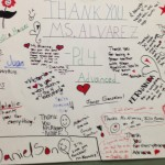 Students appreciate Nathasha Alvarez